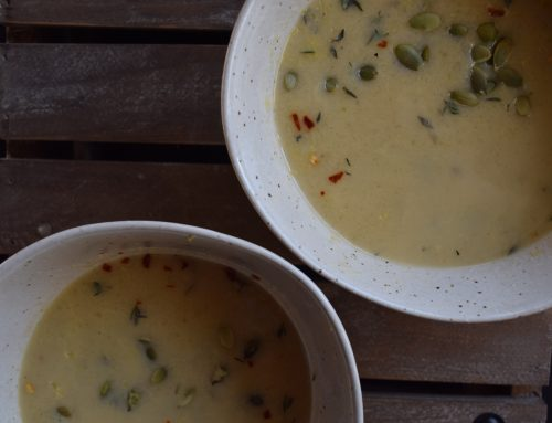 Celery Coconut Soup