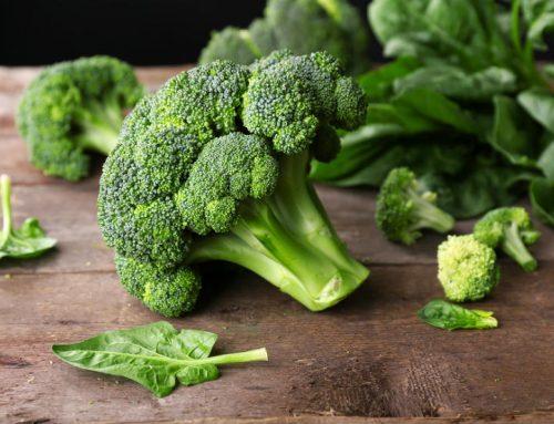 Spicy Garlic Broccoli Broth/Soup