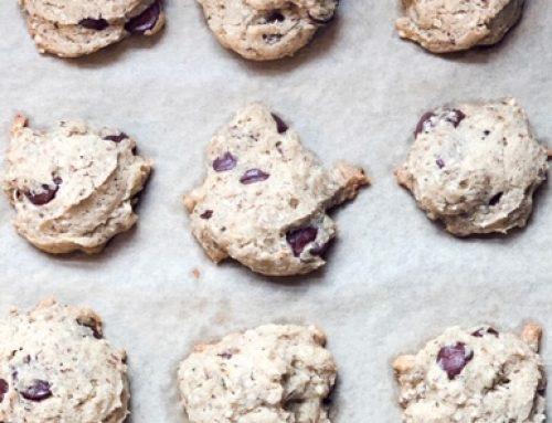Banana Chocolate Chip Cookies | Vegan, Gluten-Free, Sugar-Free